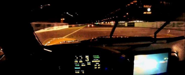 VIDEO: Cum arata un tur de pista, pe timp de noapte, in Cursa de 24h de la Le Mans