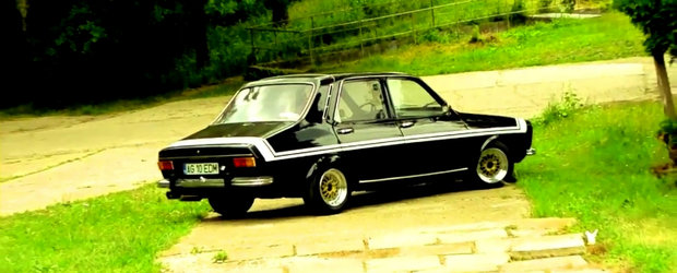 VIDEO: Dacia 1300 Black Beauty - Tuning cu aroma retro