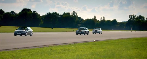 VIDEO: DACIA umileste la liniute Bentley, Mercedes si Rolls-Royce