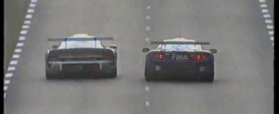 Video de colectie: Porsche 911 GT1 si McLaren F1 GTR, duel aprig la Le Mans 1996
