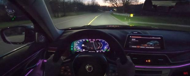 VIDEO de la volanul celui mai rapid sedan din lume. La bordul lui calatoresti cu 330 km/h in lux deplin