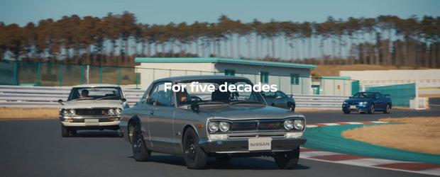 VIDEO de poveste de la Nissan. Japonezii celebreaza 50 de ani de GT-R