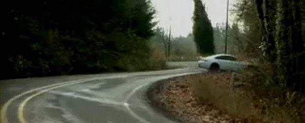 Video: Drift cu BMW M6 - Asa nu!