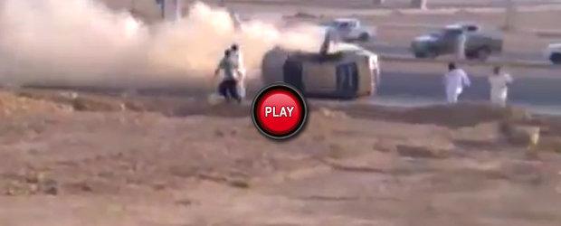 Video drift: Drifturi arabesti finalizate prost...