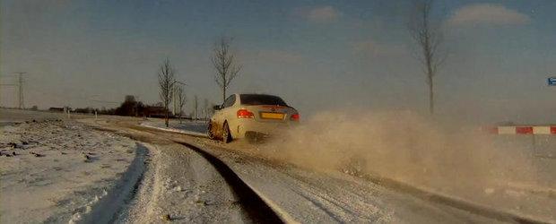 VIDEO: Drifturi in zapada cu noul BMW Seria 1 M Coupe!