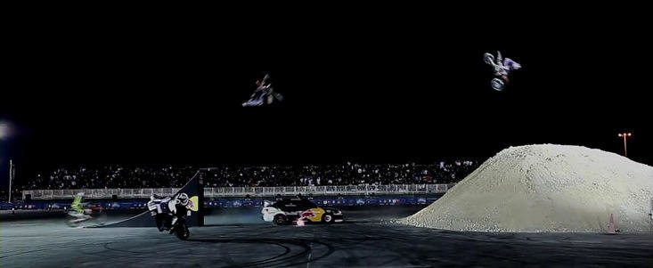 VIDEO: Drifturi si cascadorii de sapte stele la Qatar Motor Show 2012!