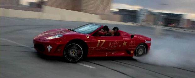 Video: Drifturi si cerculete intr-o parcare supraterana din Las Vegas
