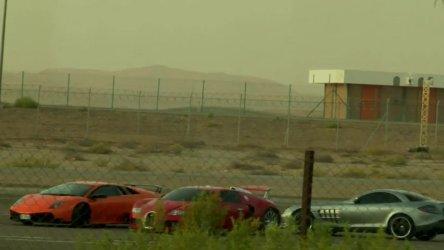 Video: Echipa Top Gear surprinsa in Emiratele Arabe Unite