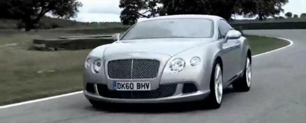 Video Exclusiv: Noul Bentley Continental GT se prezinta in detaliu!