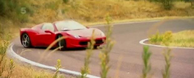 VIDEO Ferrari 458 Spider - Vicki (Fifth Gear) dezlantuie supercarul italian