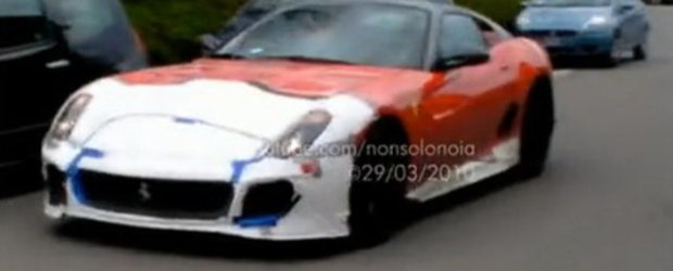Video: Ferrari 599 GTO in actiune!