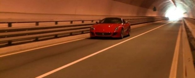 Video: Ferrari 599 GTO intra in Tunelul Dragostei