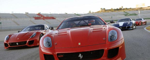 Video: Ferrari 599XX in actiune la Valencia!