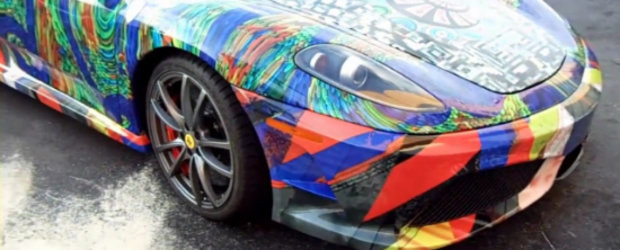 Video: Ferrari F430 Scuderia transformat in Art Car. Ce parere ai?