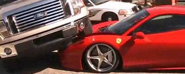 Video: Ford versus Ferrari 1 - 0!