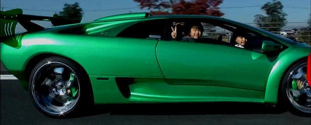 Video Funny: Ceva-i in neregula cu acest Lamborghini. Dar oare ce?