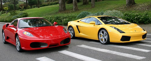 Video Funny: Iata dovada faptului ca Lamborghini este mai tare ca Ferrari