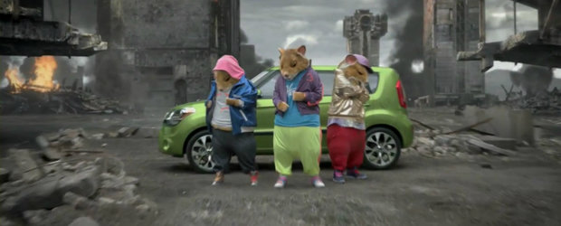 Video Funny: Kia Soul si hamsterii revin pe monitorul nostru