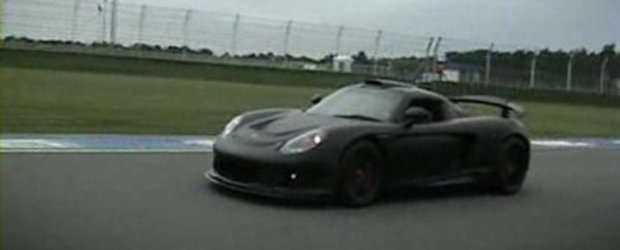 Video: Gemballa Mirage GT pe circuit!