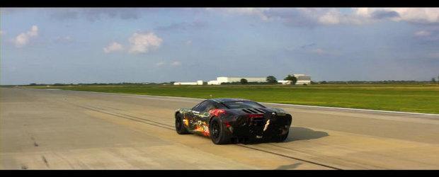 VIDEO: Hennessey GT Twin-Turbo reuseste un nou record: 342.6 km/h pe 0.5 mile!