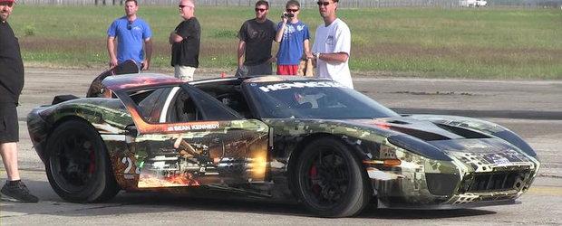 VIDEO: Hennessey GT Twin-Turbo stabileste un nou record de viteza - 414.7 km/h intr-o mila!
