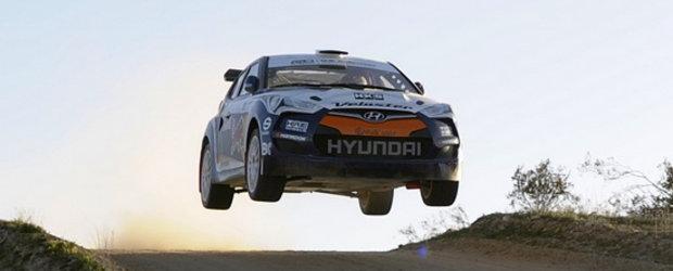 Video: Hyundai Veloster Rally Car iubeste sa zboare!