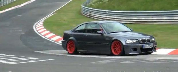 VIDEO: Invazia BMW-urilor E46 M3 pe Nurburgring