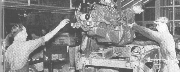 Video istoric: Cum se asamblau masinile in 1936