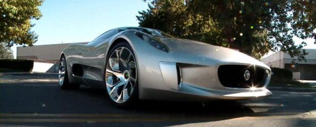 Video: Jay Leno face cunostinta cu impresionantul Jaguar C-X75 Concept