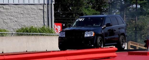 VIDEO: Jeep Grand Cherokee de 1.142 CP - 9.4 secunde pe sfertul de mila