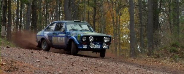 Video: Ken Block gusta din aroma Ford Escort Mk2!