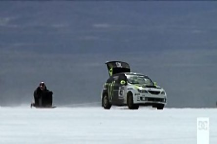 Video: Ken Block & Travis Pastrana la Bonneville - Nebunie!