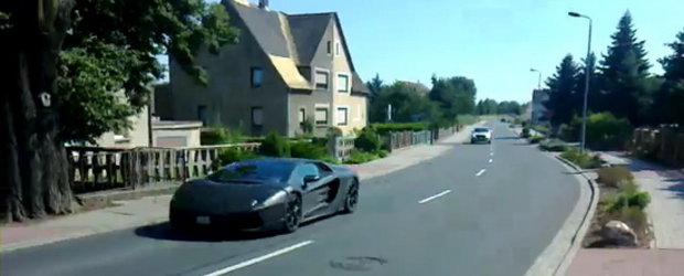 Video: Lamborghini Jota revine pe pelicula!