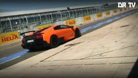 Video: Lamborghini Murcilago LP670-4 SV pe circuit