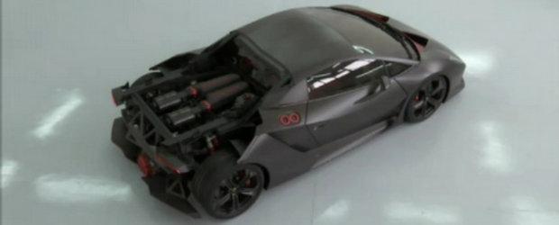 Video: Lamborghini Sesto Elemento ajunge pe pelicula, suna infricosator!