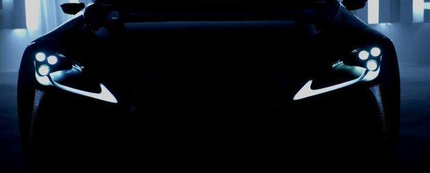 VIDEO: Lexus prezinta in detaliu noul LF-LC Concept