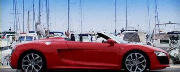 Video: Magnificul Audi R8 Spyder revine pe pelicula