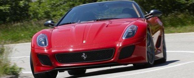 Video: Magnificul Ferrari 599 GTO revine pe pelicula