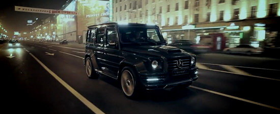 Video: Mansory G-Couture cucereste Rusia!