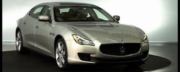 VIDEO: Maserati prezinta in detaliu noua generatie Quattroporte
