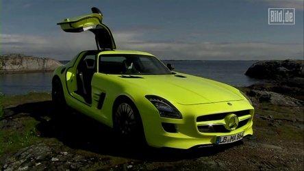Video: Mercedes-Benz SLS AMG E-Cell in actiune!