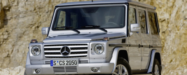 VIDEO: Mercedes G-Klasse... Indestructibilul!