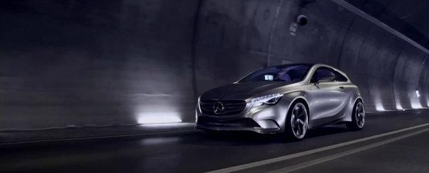 VIDEO: Mercedes ne arata cum a luat nastere conceptul A-Class