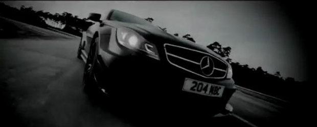 VIDEO: Mercedes ne dezvaluie partea intunecata a noului C63 AMG Black Series