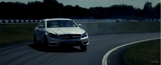 VIDEO: Mercedes tortureaza cauciucurile pentru placerea noastra vizuala