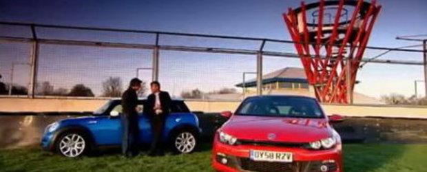 Video: Mini Cooper S vs. Volkswagen Scirocco