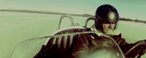VIDEO: Morgan 3 Wheeler atinge 149 km/h pe gheata, stabileste un nou record