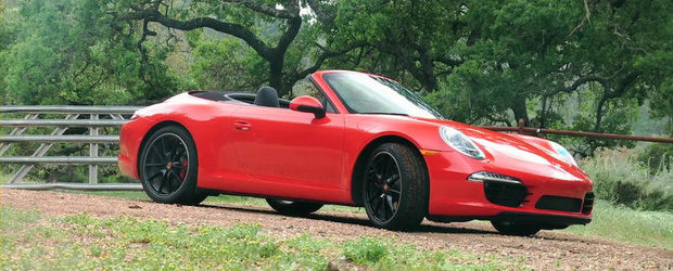 VIDEO: MotorTrend testeaza noul Porsche 991 Cabrio