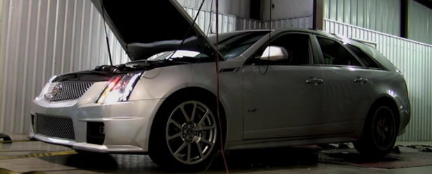 Video: Mr. Cadillac CTS-V Sport Wagon urca pe dyno!