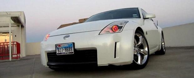 VIDEO: Nissan 350Z cu lumini a la Iron Man
